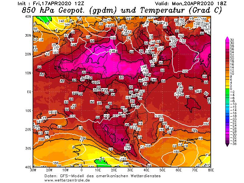 156 موقع أبو سعد للطقس / توقعات الموديل الالماني