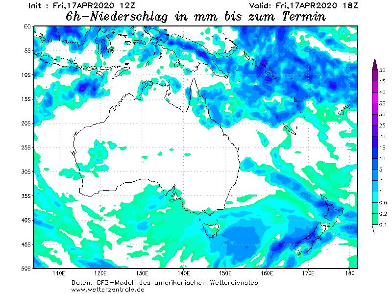 AWN WeatherWall -- Rainfall
